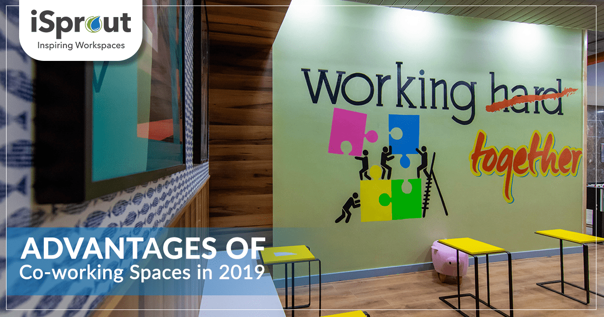 Advantages of coworking spaces