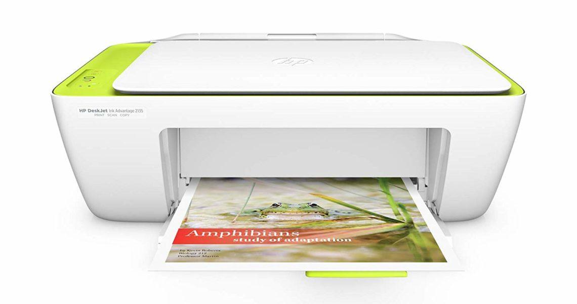 Software printer hp 2135