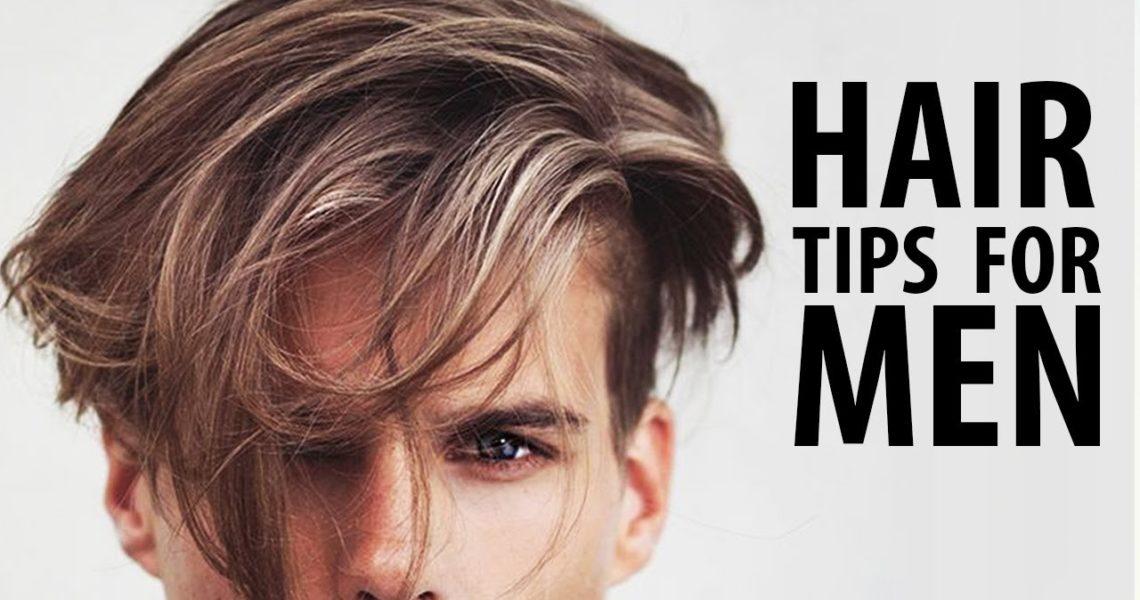 Men's Hair Tips on Styling