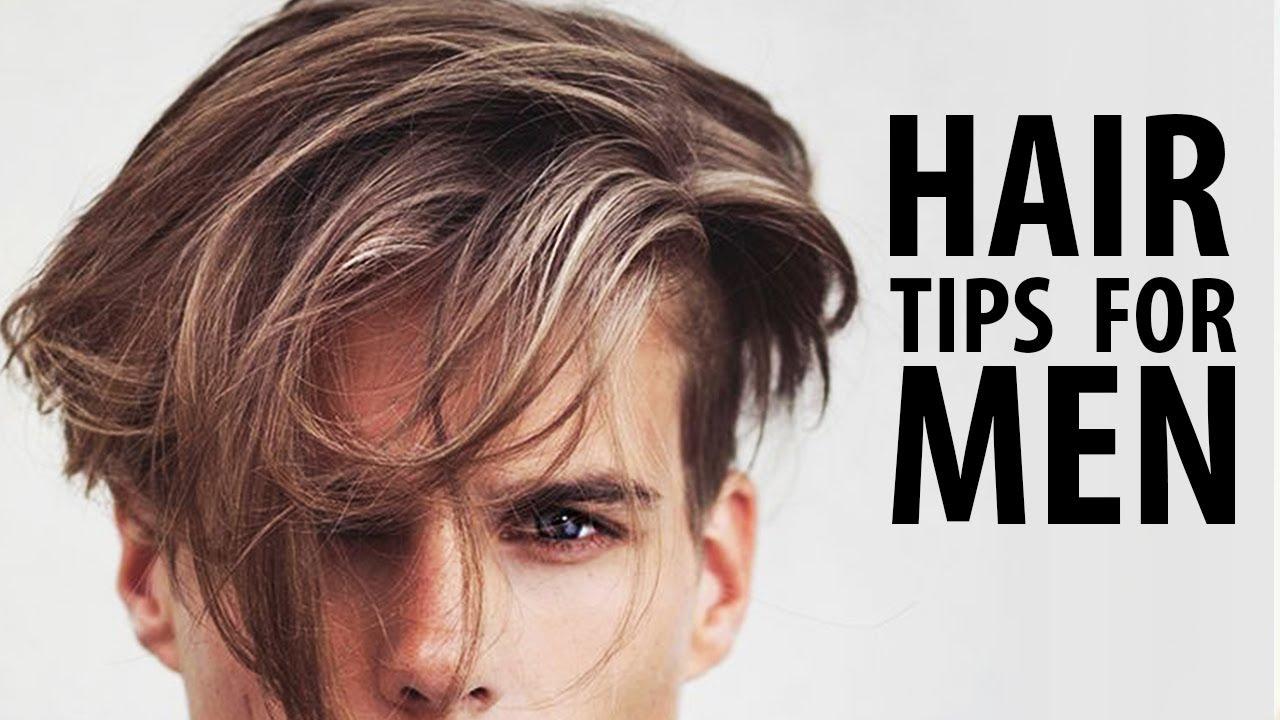 Men's Hair Tips, Men's Hair Tips on Styling