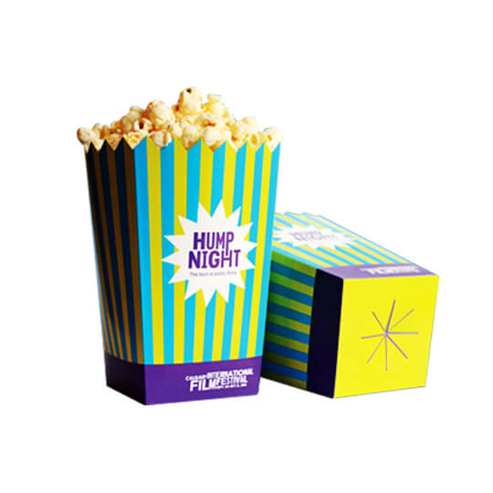 Popcorn Boxes, Support Your Popcorn Business using the Modern Popcorn Boxes!