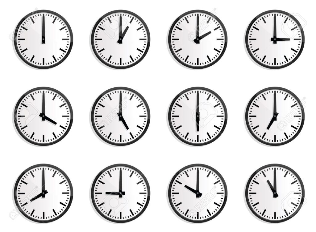 The fantasy of a real-world clock system