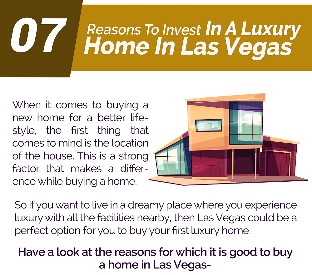 7 Reasons To Invest In A Luxury Home In Las Vegas