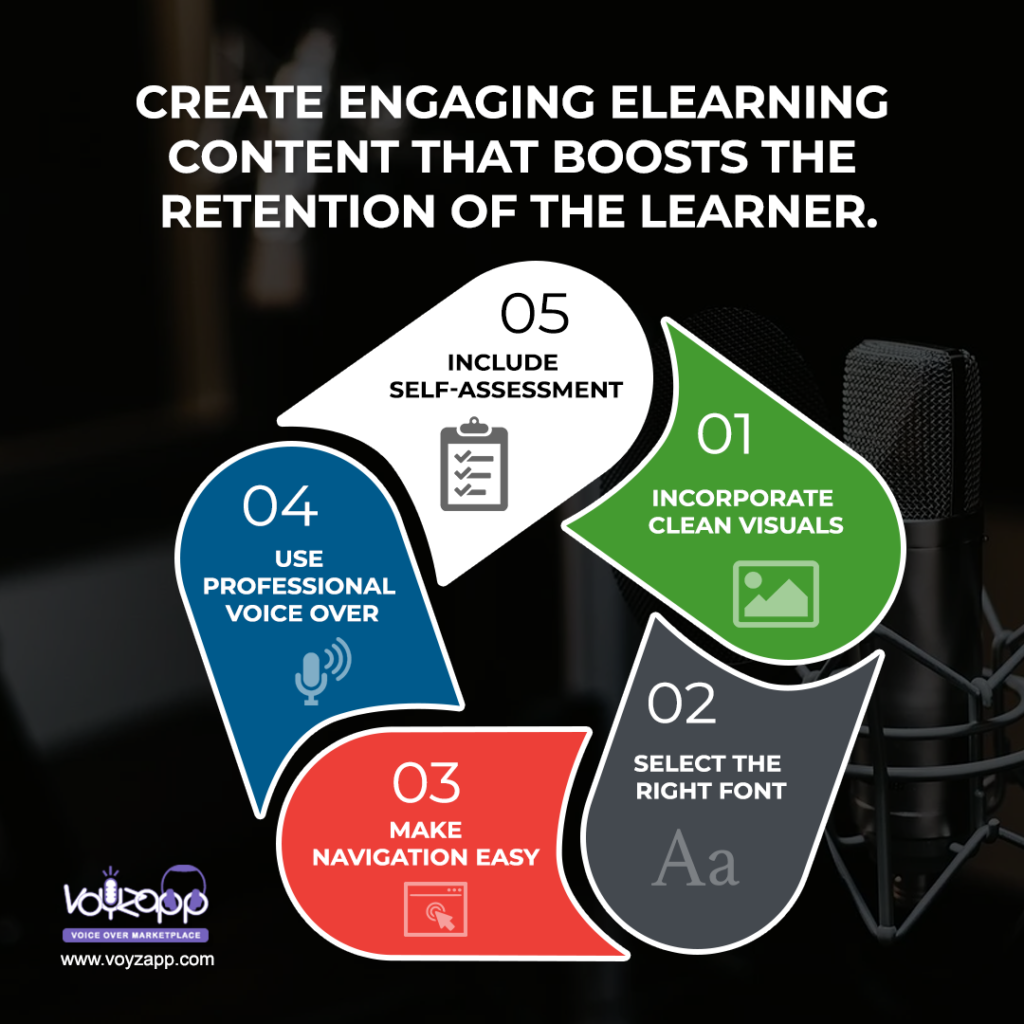 Tips To Create Elearning Content That Boosts Learner's Retention