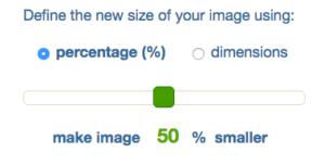 Define New Size