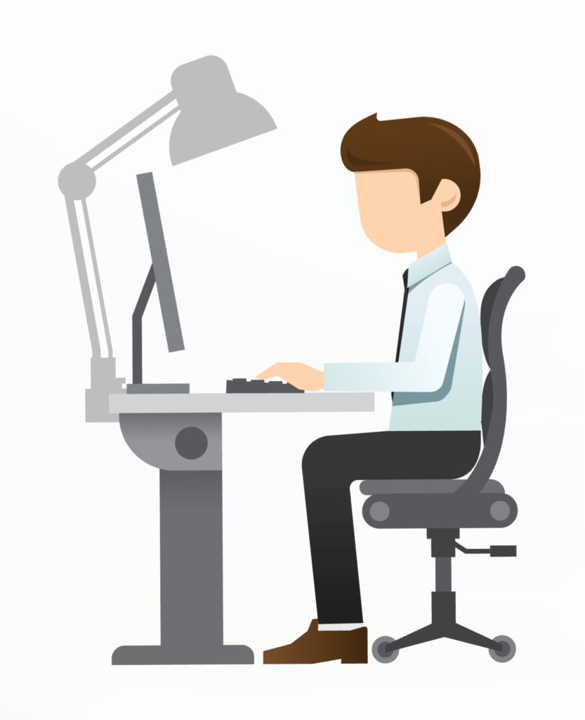 How To Properly Sit On a Computer Chair