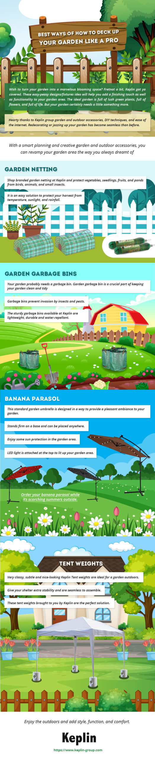 Garden, How to Deck Up Your Garden like A Pro