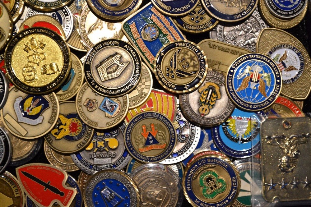 Exotic Designing Tips for Military Challenge Coins Air Force