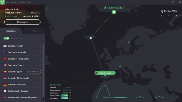 ProtonVPN: Secure and Free VPN service for protecting your privacy