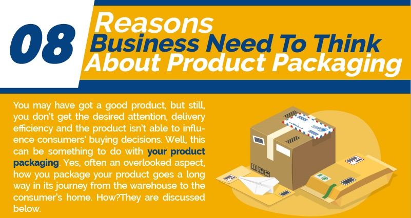 8 Reasons Business Need To Think About Product Packaging