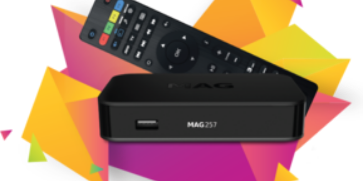 Introduction of TV-Box Mag 256 Infomir