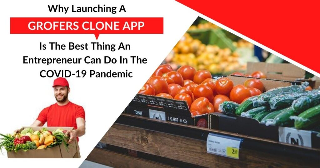 Why Launching A Grofers Clone App Is The Best Thing An Entrepreneur Can Do In The COVID-19 Pandemic