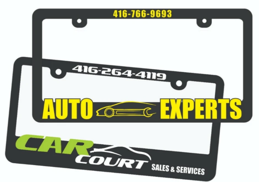 license plate frame, Buying License Plate Frame For Your Car