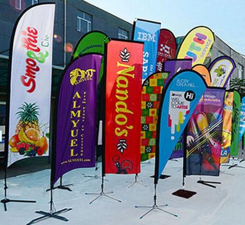 The Benefits of Teardrop Promotional Flags