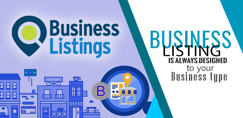 Business Listing is always designed according to your Business type