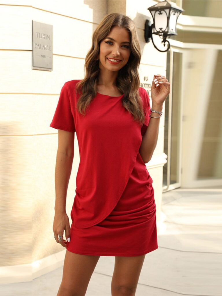 wholesale red dresses