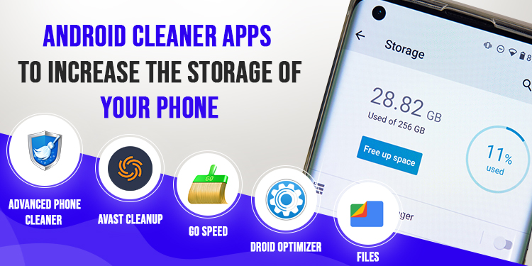 Android Phone Cleaner Apps, Top 5 Android Phone Cleaner Apps To Increase The Storage Of Your Phone