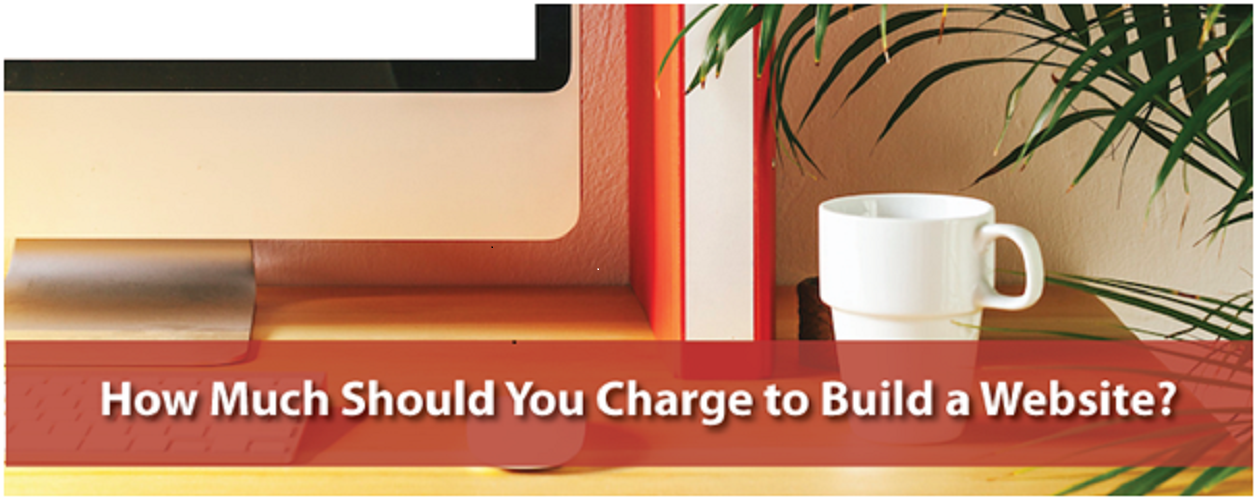 How much should you charge to build websites?