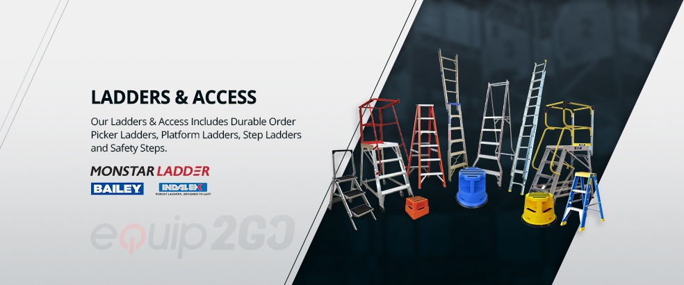, Types of ladders used in industries for commercial uses