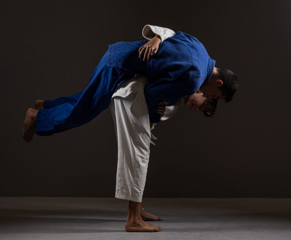 RISING TO THE TOP IN JUDO