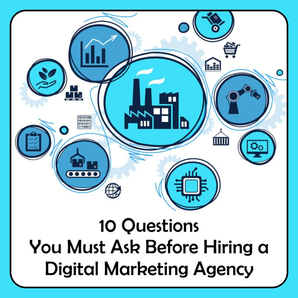 10 Questions You Must Ask Before Hiring a Digital Marketing Agency