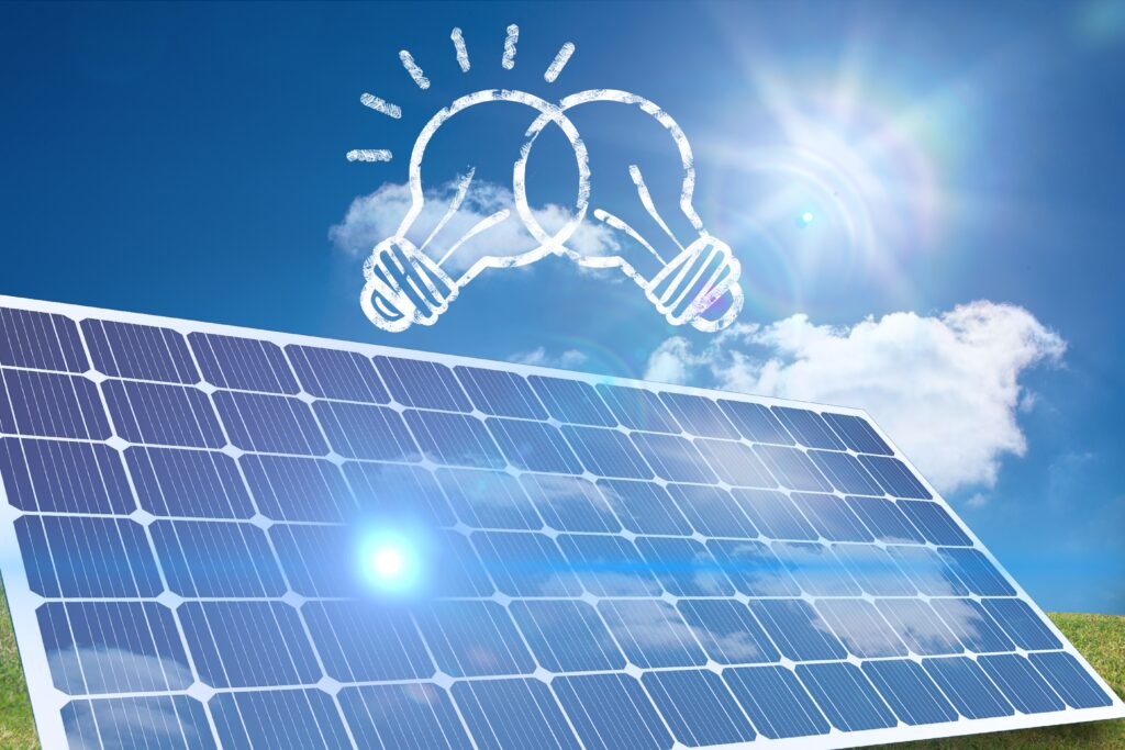 Solar Lightning System to protect your plant
