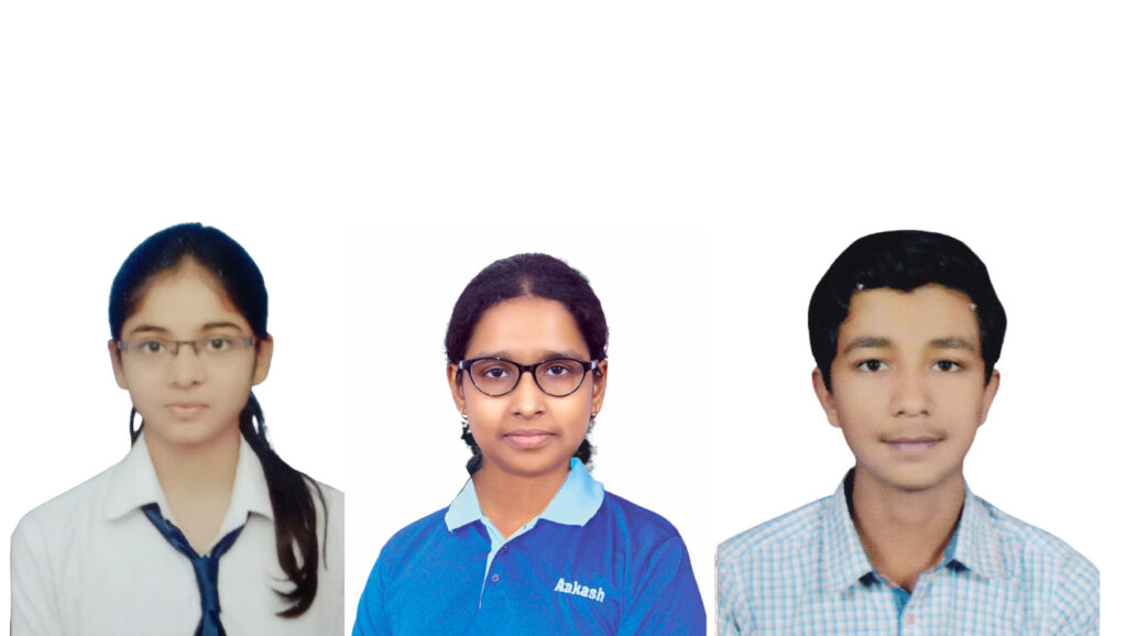 Aakash Institute Students Secure Top 3 ranks in NEET 2020 Examination in Jharkhand