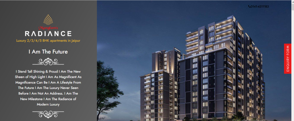 Modern Lifestyle with Ultra Luxury Apartments in Jaipur – Manglam Radiance