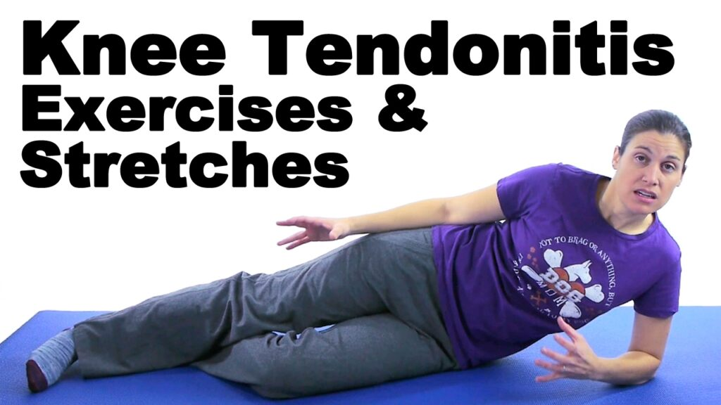 Knee Tendonitis Exercises that Don't Cause Pain: A complete guide