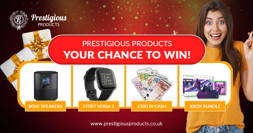 Prestigious Products – Your Chance To Win!