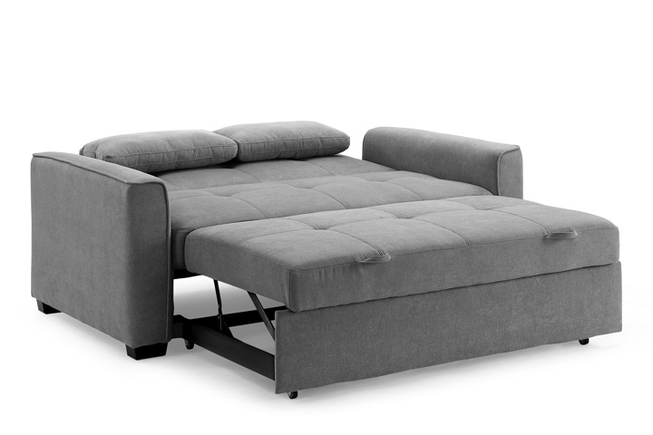 The trending sectional sofa can turn into a bed!