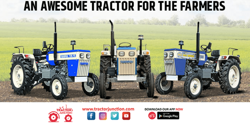 Swaraj Tractor an Authentic Selling Brand