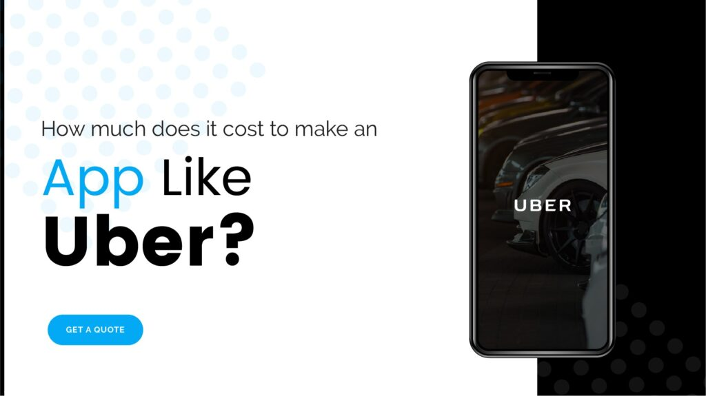 How much does an app like Uber cost?