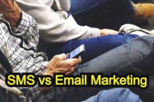 SMS (text message) vs Email Marketing