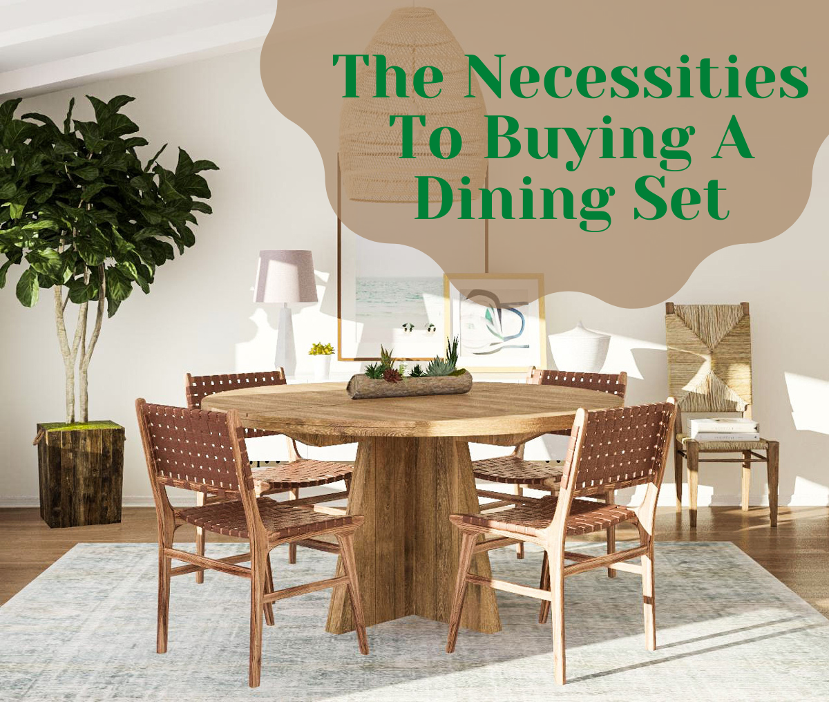 dining set, The Necessities To Buying A Dining Set