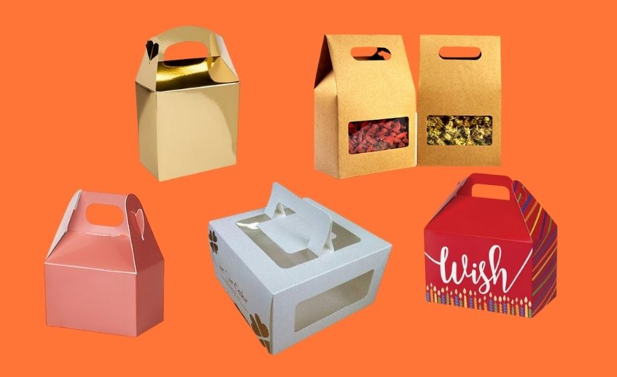 Customized Gable Boxes Solution for Grocery Products
