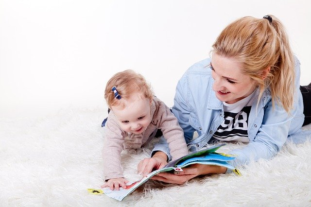 What are the benefits of telling a story to children