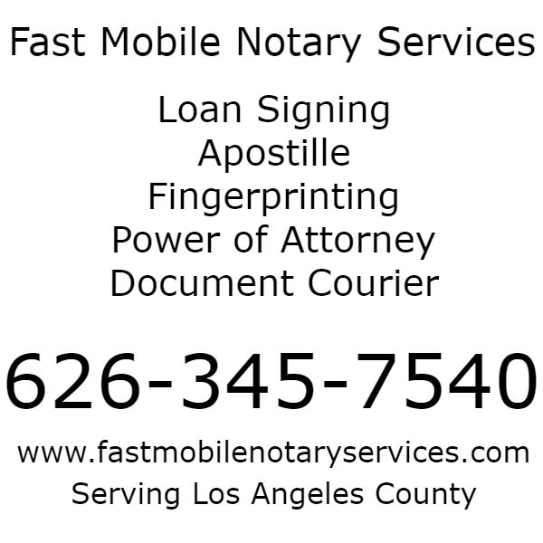 What Are Mobile Notary Signing Services?