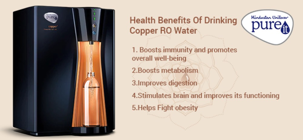 Health Benefits Of Drinking Copper RO Water