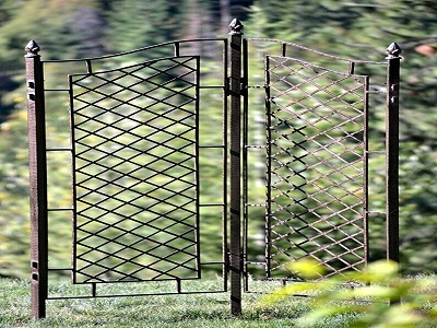 Boost Your Outdoor Decor With Our Two Panel Trellis