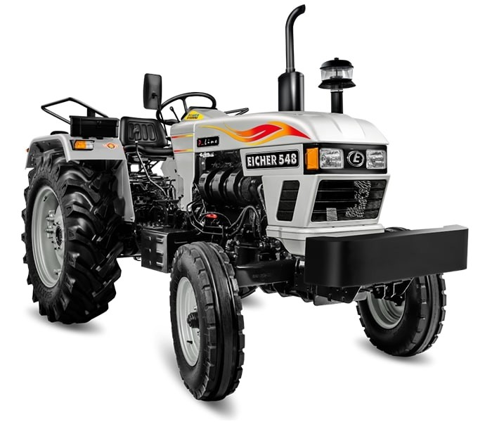 Eicher 548 is Highly Efficient Tractor For Farming Fields