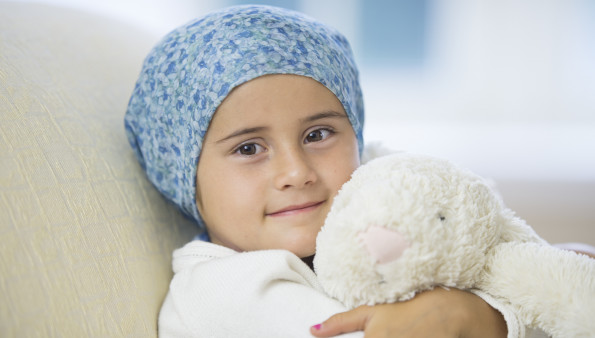 How does childhood cancer affect families?