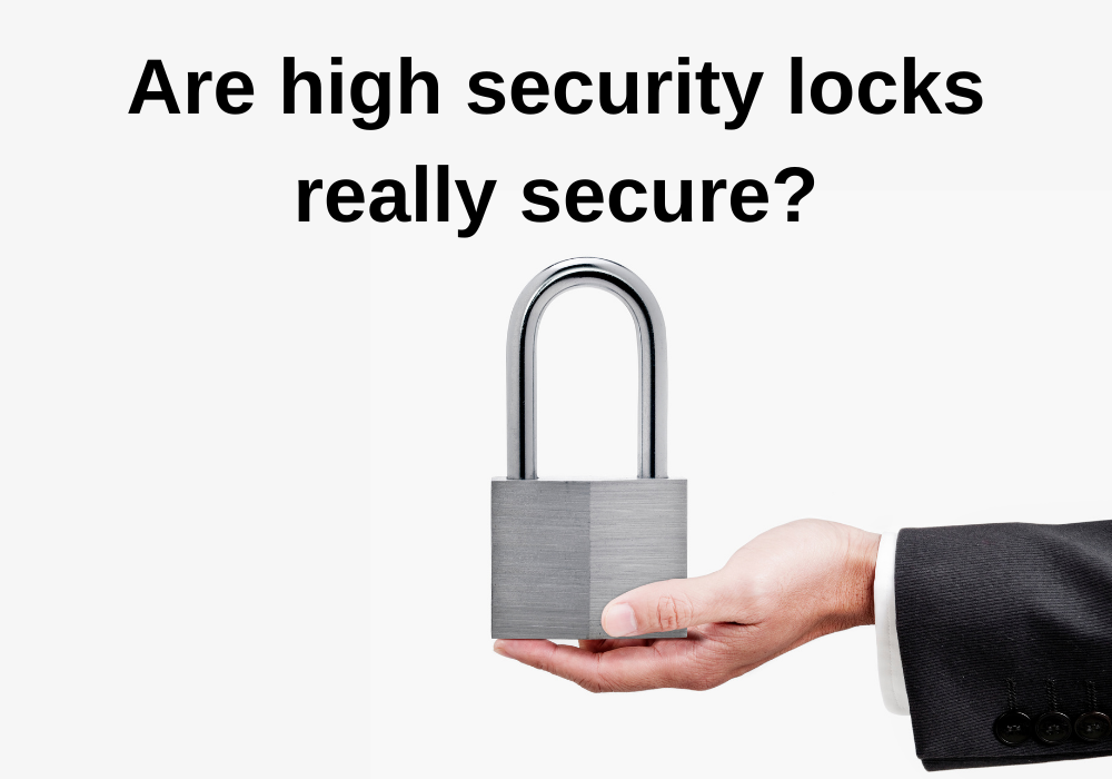 Is high-security locks really worth installing?