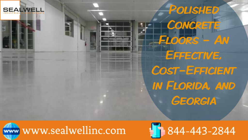 Polished Concrete Floors – An Effective, Cost-Efficient in Florida, and Georgia