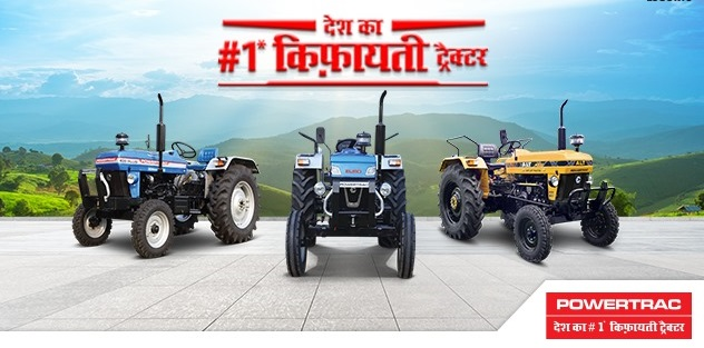Which is the Renowned Powertrac Tractor Model in India