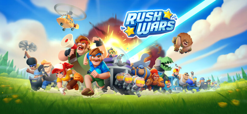 Rush Wars: so you can try the new Supercell game