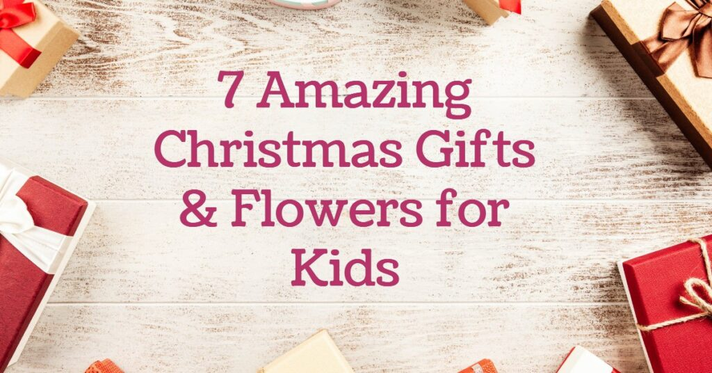 Christmas wishes centerpiece- 7 Amazing Christmas Gifts & Flowers for Kids