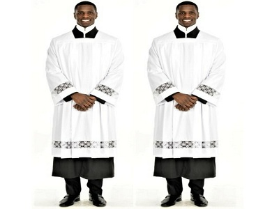 A Clergy Surplice or an Alb: Know Thy Difference!