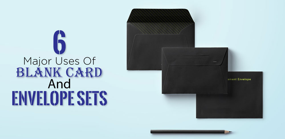 Blank Card and Envelope Sets