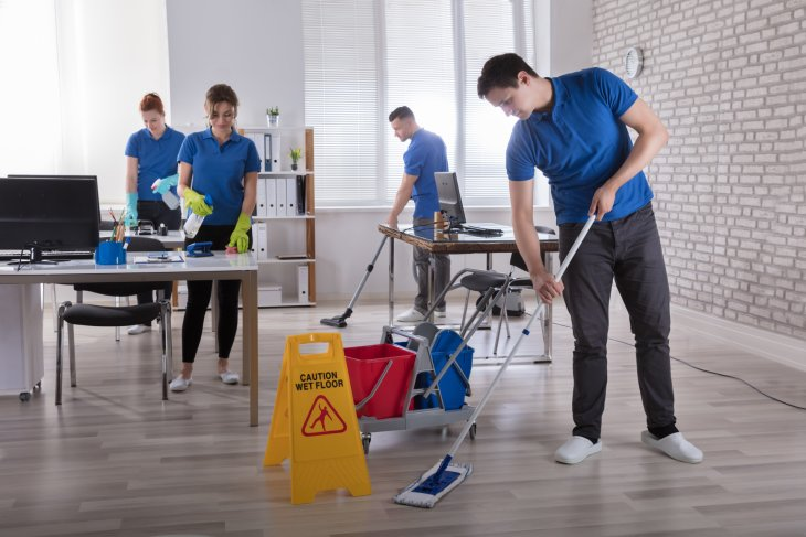 A Small Guide for Commercial Cleaning Services London on.